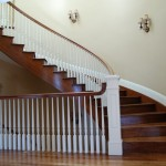 Custom home Railing