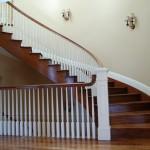 Custom home Railing