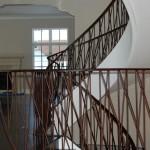 Patina handrail