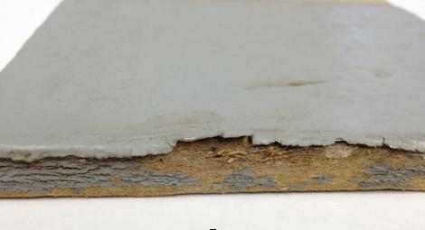 curling paint problem