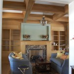 Lacquered Wood inside house