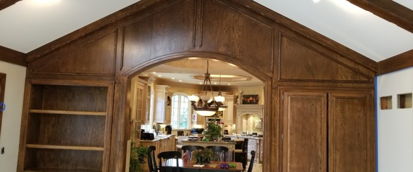 interior painting in Cherry Hills. quality stain and paint. Tri-plex Painting, Inc. Littleton colorado