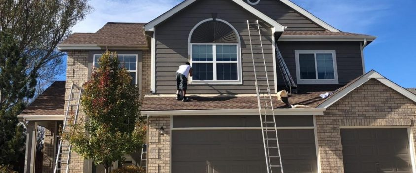 Littleton Exterior House Painting