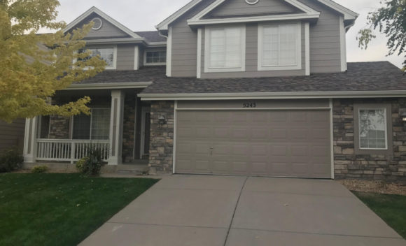 Littleton. CO Exterior House painting